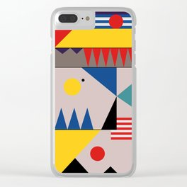 LANDSCAPES FROM THE PAST Clear iPhone Case