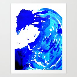 Save The Water Watercolour Art Print