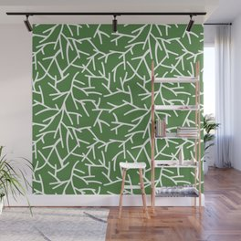 Branches - green Wall Mural