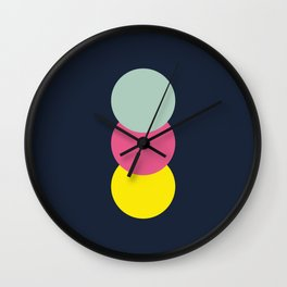 Three Dots 03 Wall Clock