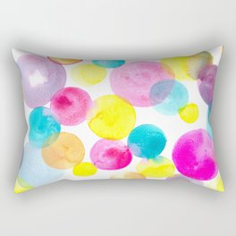 Confetti paint Rectangular Pillow