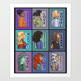 She Series - Version 2 Art Print