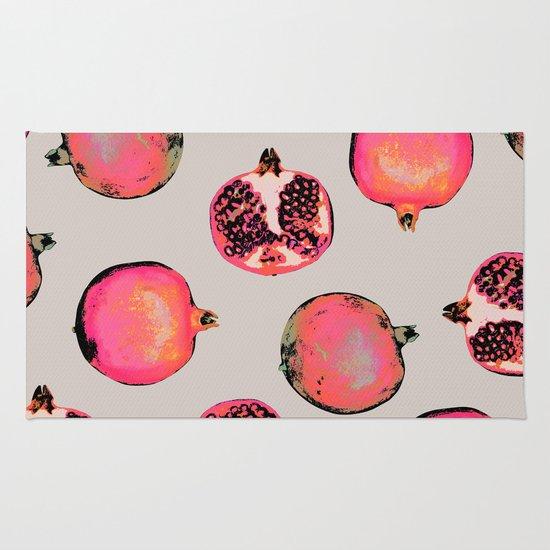 Pomegranate Pattern Rug