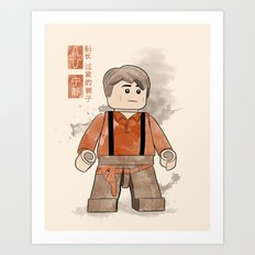 Captain Tightpants (Lego Firefly) Art Print
