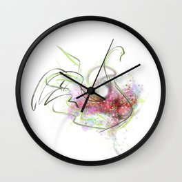cool sketch 96 Wall Clock