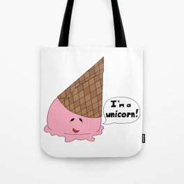 When Life Gives You Gravity (Strawberry) Tote Bag