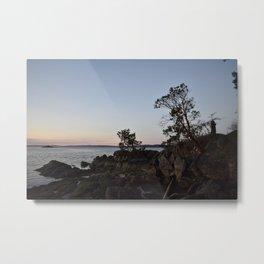 Pilkey Point Sunset Metal Print