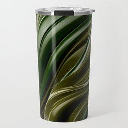 Green Wave Travel Mug