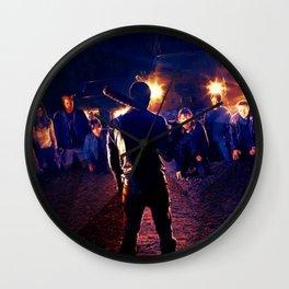 Negan 6x16 Scene Wall Clock