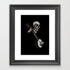 Skullboys' Banjo Blues Framed Art Print
