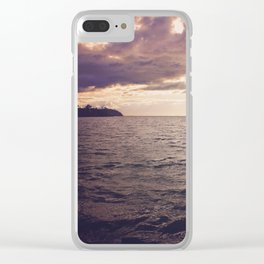 Dark Water Clear iPhone Case