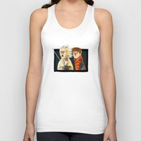 back to the future Tank Tops featuring Back to the future by Peerro