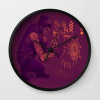 zayn Wall Clocks featuring Zayn by RockitRocket