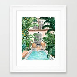 Moroccan Dream Framed Art Print