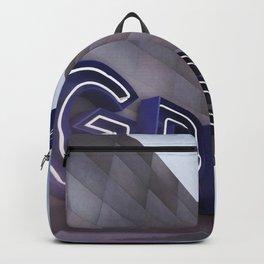 GREYHOUND BUS STATION COLOR Backpack
