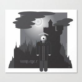 vamp.eye.r Canvas Print