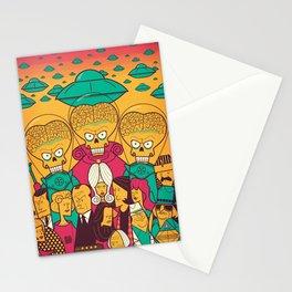 Mars Attacks! Stationery Cards