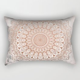 ROSE NIGHT MANDALA Rectangular Pillow