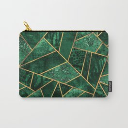 Deep Emerald Carry-All Pouch