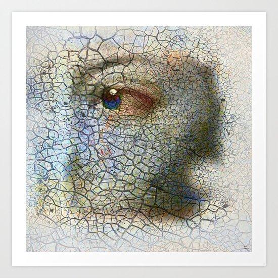 Fragment of you Art Print