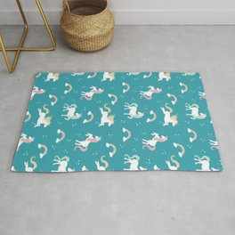 It's magic! Unicorn Rug