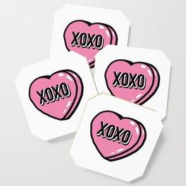 XOXO Heat Candy Coaster
