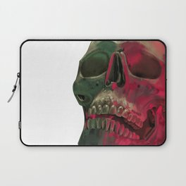Skull Reflet Laptop Sleeve