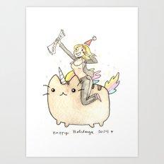 Merry xMas Master Magics! Art Print