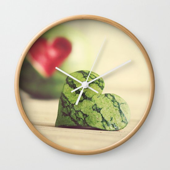 Eat Your Heart Out Wall Clock