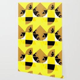 Edgy Geometric Design Wallpaper