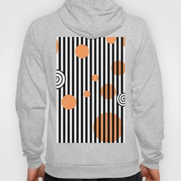 orange twist Hoody