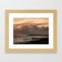 November Storm Framed Art Print