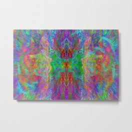 Lightworker In The Zephyr (abstract, visionary) Metal Print
