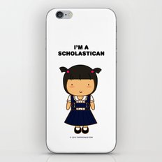 I'm A Scholastican iPhone & iPod Skin