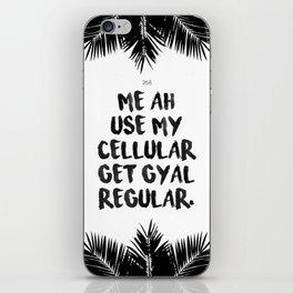 Get Gyal Regular iPhone Skin