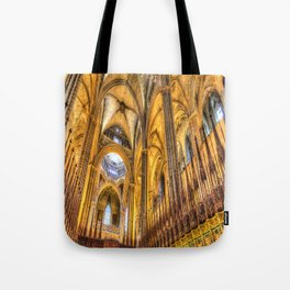 Barcelona Cathedral Choir Tote Bag