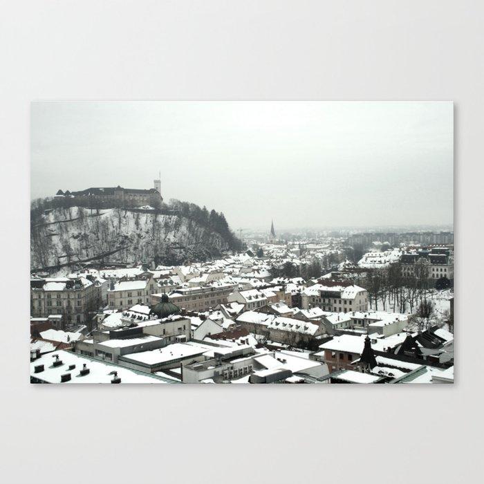 Ljubljana Slovenia Canvas Print