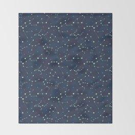 Constellation Pattern (A) Throw Blanket