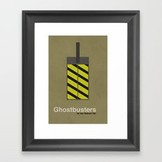 Ghostbusters Framed Art Print