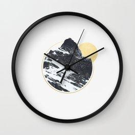 Mt. Golden Wall Clock