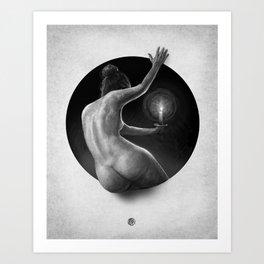 Your Way Is Lit : Porthole Series Art Print