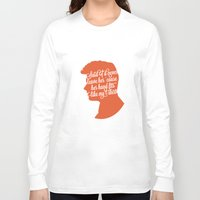 liam payne Long Sleeve T-shirts featuring Liam Payne Silhouette   by Holly Ent