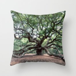 Oak of the Angels Throw Pillow