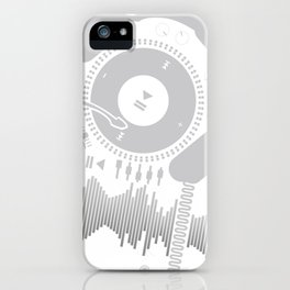 Funny_Record iPhone Case
