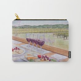 Wine Train Happy Hour Carry-All Pouch