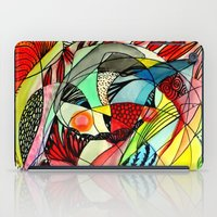 karma iPad Cases featuring karma by sylvie demers