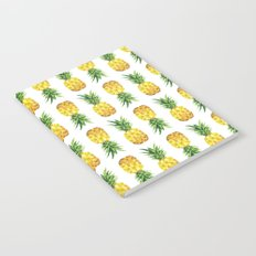 Pineapple Abstract Triangular  Notebook