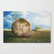 The Giant Compass Canvas Print