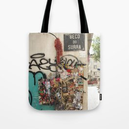 Lisbon Street Tote Bag