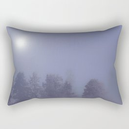 Silent Night in Foggy Atmosphere #decor #society6 Rectangular Pillow